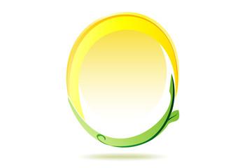 Cerchio ecologico fonte solare