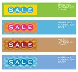 Seasonal Sale Flyers