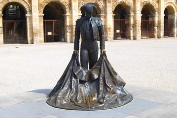 Statue de toréador