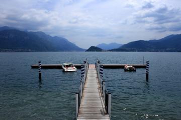 Romantic Boats on lake