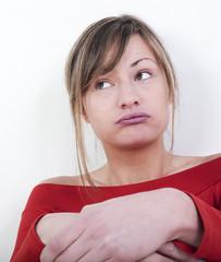 souffle de femme expressive