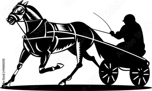 Harness Racing Stock Image And Royalty Free Vector Files On Fotolia