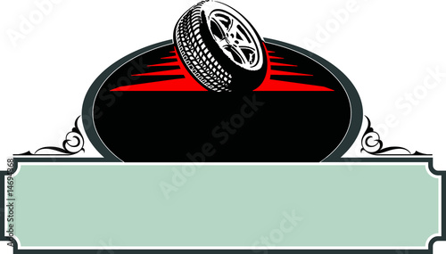 Template Tire Pinstripe Stock Image And Royalty Free Vector Files