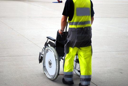 wheelchair airport