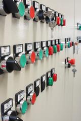 quadro elettrico comandi verticale
