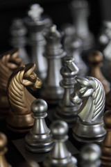 Chess Master Silver & Gold