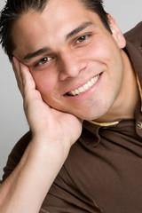 Casual Man Smiling