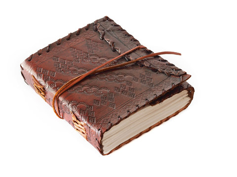 Leather-bound book