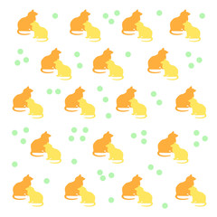 kitty cat pattern