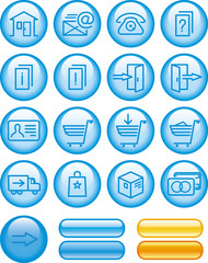 E-Commerce Icons Set (Vector)
