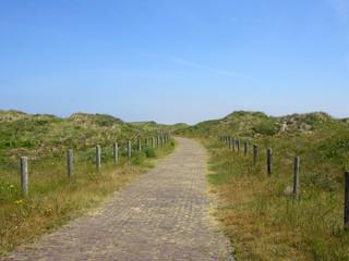 Dünenwanderweg bei Scheveningen