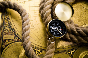 Compass & Old map