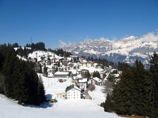 Small village in alps