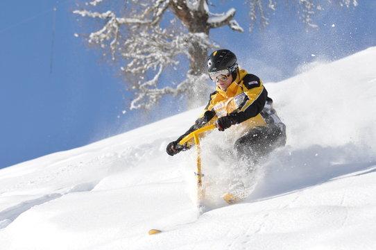 snowbike powder 0844