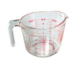 A measuring mug isolated