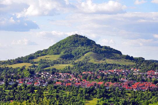 A photo of Mt. Achalm near Reutlingen
