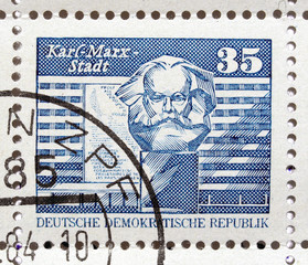 German DDR stamps