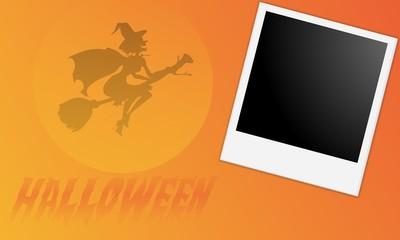 cadre photo halloween