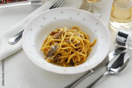 Pasta con le alborelle primi piatti della cucina for Cucina italiana primi piatti