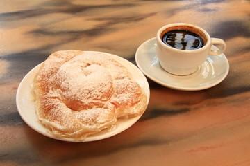 Ensaimades, Cafe, Mallorquinische Hefeschnecke, Spanien