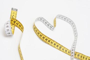 Heart of tape measure