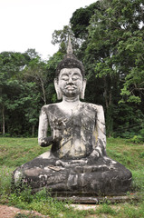 Single Buddha Front Statue
