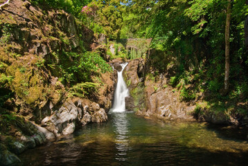 Lake District waterfall