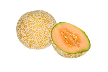 Melon and melon section