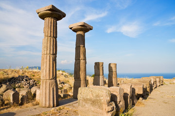 Ruined Athena temple near Assos(2)