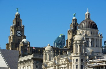 Liverpool: Three Graces