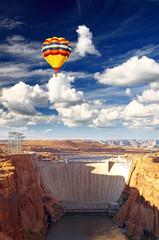 Glen Canyon Dam and Lake Powell