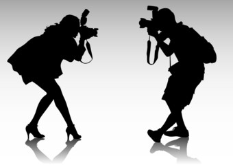 Two photographer