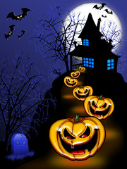 Halloween Sfondo-Halloween Background-Arrière Plan Halloween 2