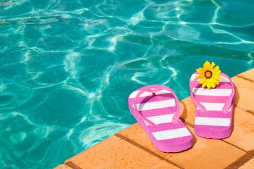 Poolside Flip Flops