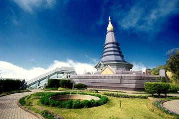 The pagoda in Chiangmai