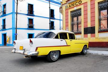 Garden Poster Cars from Cuba vintage car in cuba
