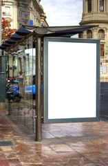 Bus Stop Advertisement Space