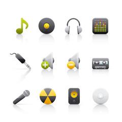 Icon Set - Audio