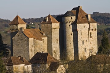 Curemonte (Corrèze) - Chateau