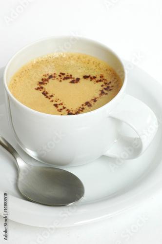 tasse kaffee mit herz stockfotos und lizenzfreie bilder. Black Bedroom Furniture Sets. Home Design Ideas
