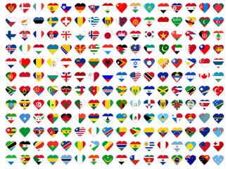 Icons of all  flags
