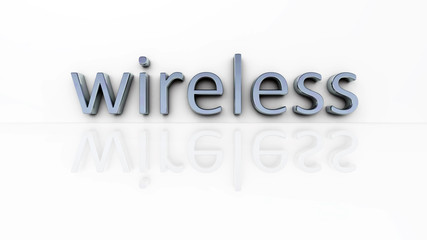 chrome word wireless