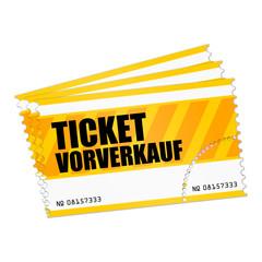 ticket v3 ticketvorverkauf gelb