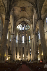 Barcelona - interior from gothic cathedral