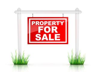 Real Estate Sign - Property For Sale