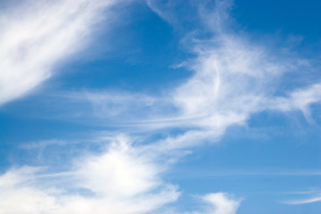 Whispy Blue Clouds