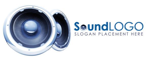 Music company logo template