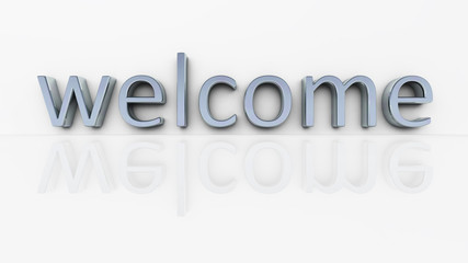 chrome word welcome