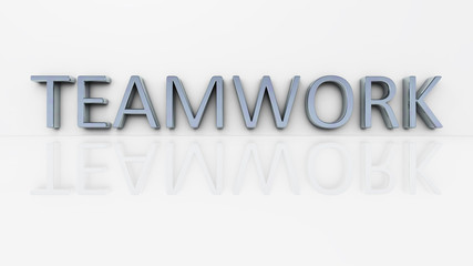 chrome word teamwork