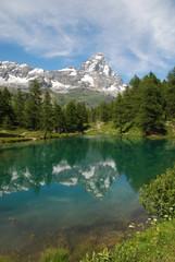 Foto auf Gartenposter Gebirge Cervino